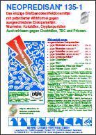NEOPREDISAN 135-1 - Desinfektion gegen ausgeschiedene Endoparasiten in der Veterinärhygiene